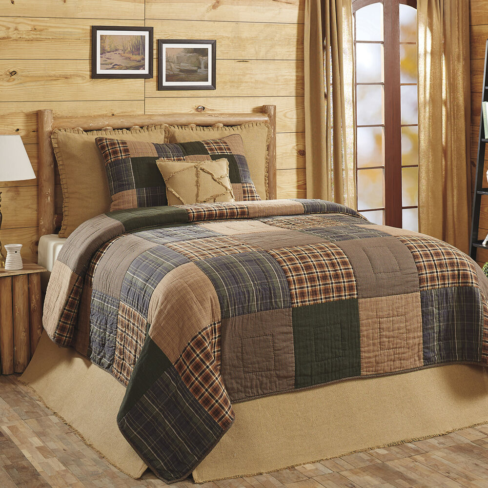 Rustic Brown Bedspreads And Comforters