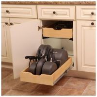 Pot Pan Cookware Kitchen Cabinet Drawer Organizer Storage ...