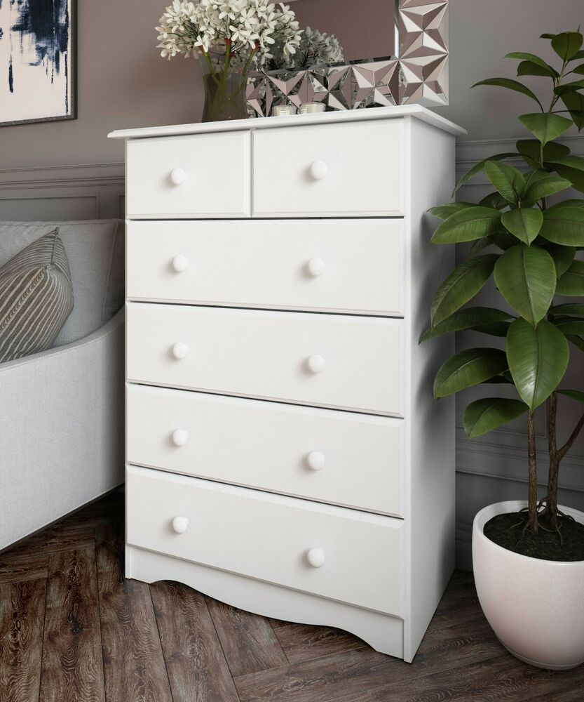 100 Solid Wood 42 or 6 Drawer Chest by Palace Imports 3 Colors  eBay