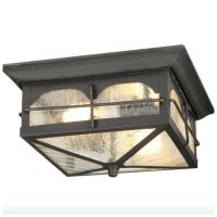 Outdoor Exterior Porch Flush Mount Ceiling Light Lighting