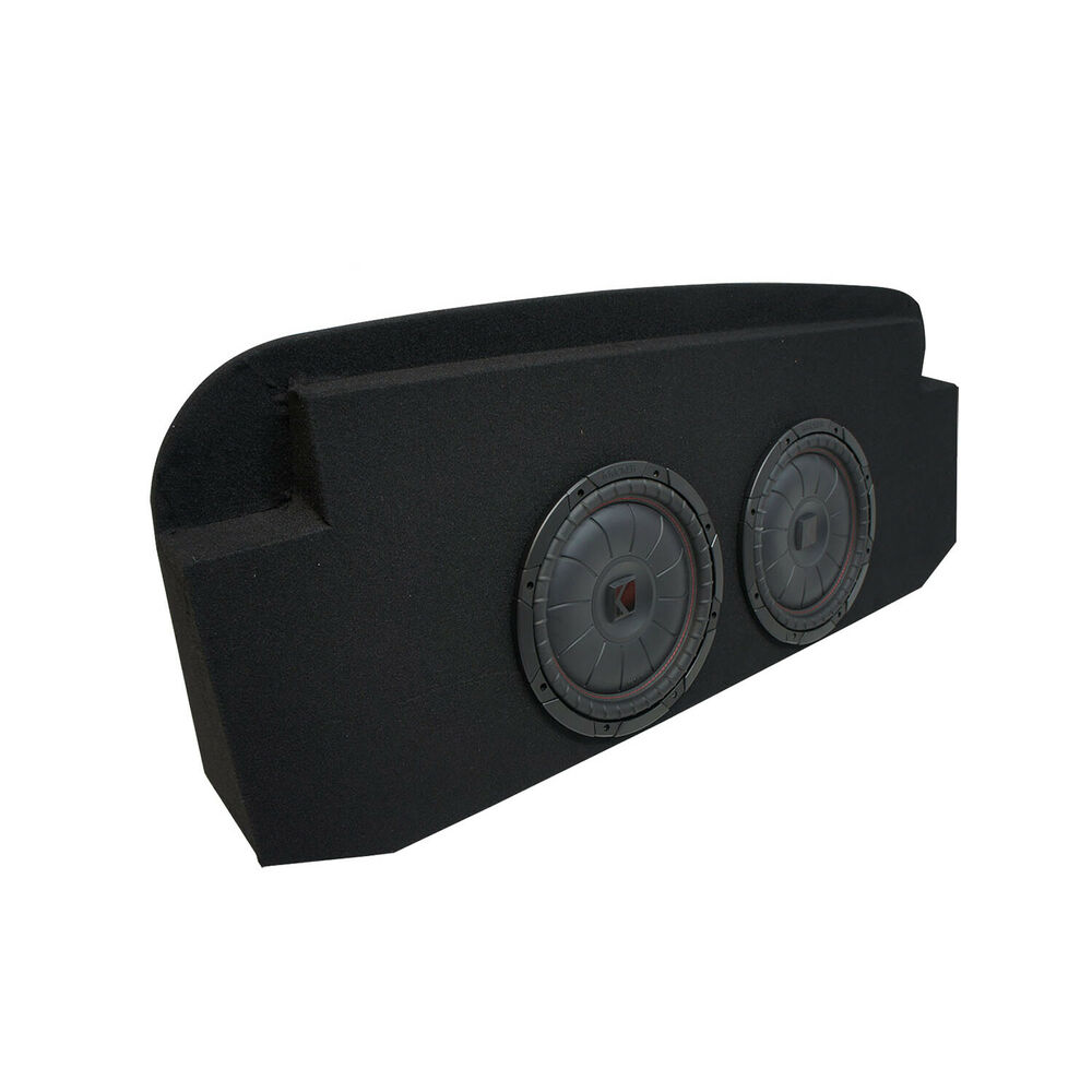 hight resolution of details about 2002 2013 cadillac escalade ext kicker compvt cvt10 dual 10 sub box 2 ohm