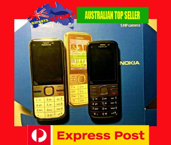 BRAND NEW NOKIA C500 UNLOCKED MOBILE PHONE 5MP Camera
