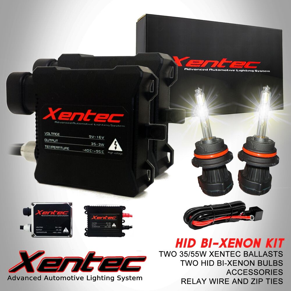 hight resolution of details about xentec bi xenon headlight high low beam hid kit h4 h13 9004 9007 9008 9003
