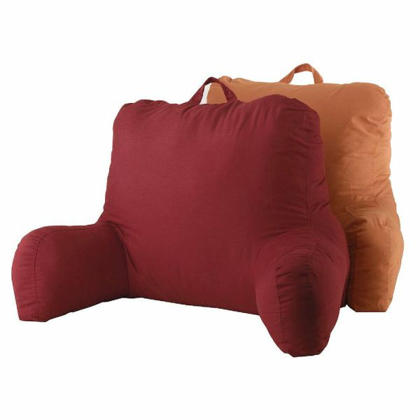Bed Rest Reading Pillow with Arms