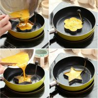 Stainless Steel Pancake Mould Mold Ring Cooking Fried Egg ...