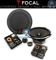 focal expert ps 165x2 6 5 car 2 ohm component speakers tweeters crossovers new ebay [ 978 x 1000 Pixel ]