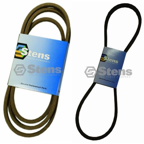 small resolution of details about stens primary secondary drive belts for 754 0467a 754 0468 112 0305 lx423 lx425