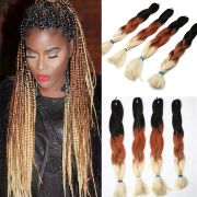 1pack 100g 3 tone ombre braiding