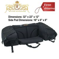 Atv Parts Luggage Rack Atv Rear Seat Pad Cushion Storage ...
