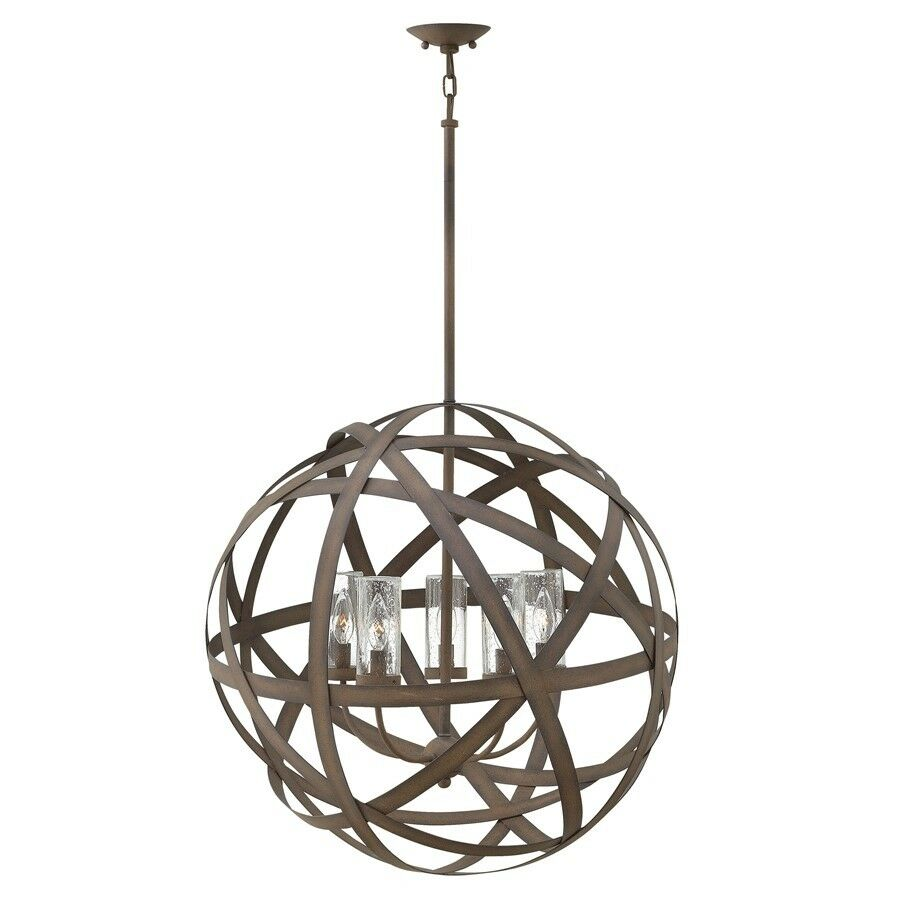 Hinkley Lighting Carson 5 Light Outdoor Chandelier