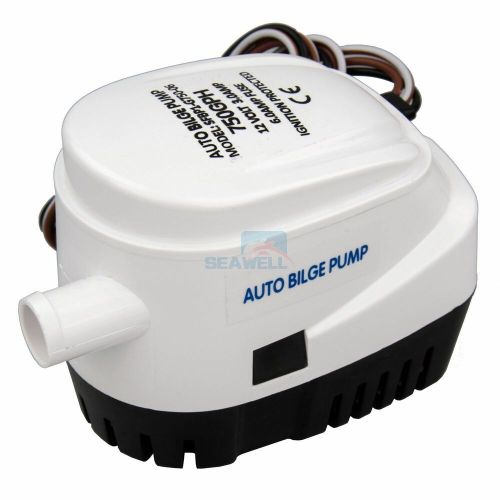 small resolution of details about seaflo 12v 750gph automatic bilge pump marine boat auto submersible bilge pump