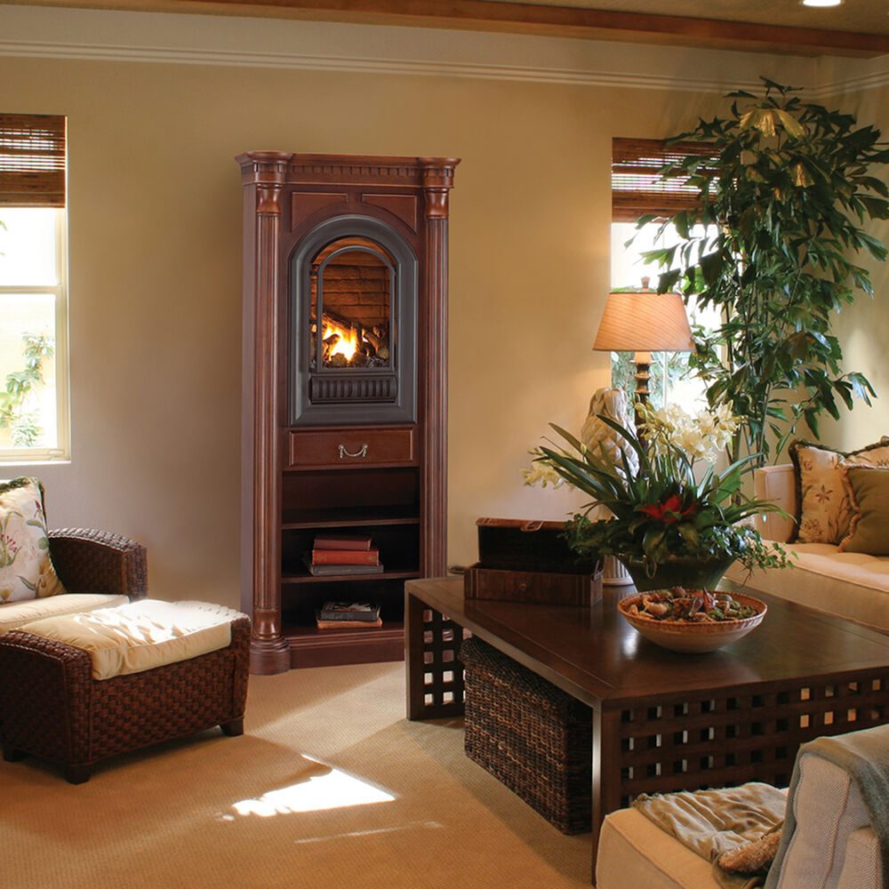 Vent Free Gas Fireplace  Hearth Sense  Tower Included