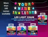 YOUR NAME IN LIGHTS *CHOOSE A NAME FROM O