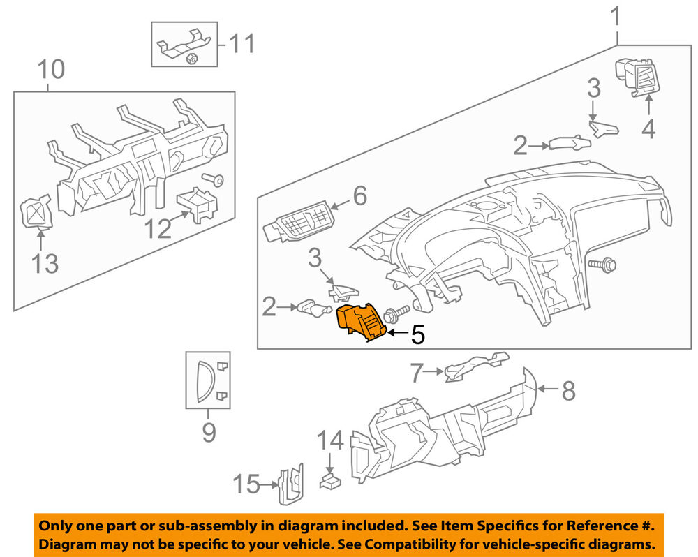 hight resolution of details about chevrolet gm oem dash air vent ac a c heater duct outlet louvre left 22812163