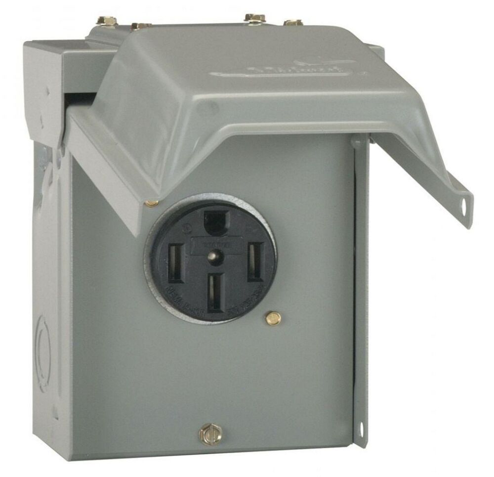 Receptacle Wiring Diagram 50 Amp Temporary Rv Power Outlet Outdoor Receptacle Plug