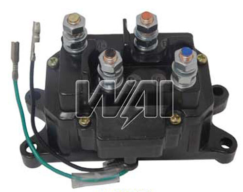 warn atv winch solenoid wiring diagram viper 5904 installation contactor relay switch for # 63070 62135 74900 2875714 | ebay
