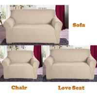 New Slipcover Stretch Sofa Cover Sofa with Loveseat Chair ...