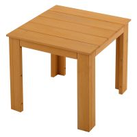 Small End Table Wood Tea Coffee Side Table Indoor Outdoor ...