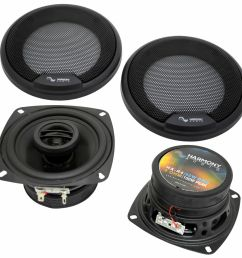 details about fits hummer h2 2008 2009 rear pillar replacement speaker harmony ha r4 speakers [ 1000 x 1000 Pixel ]