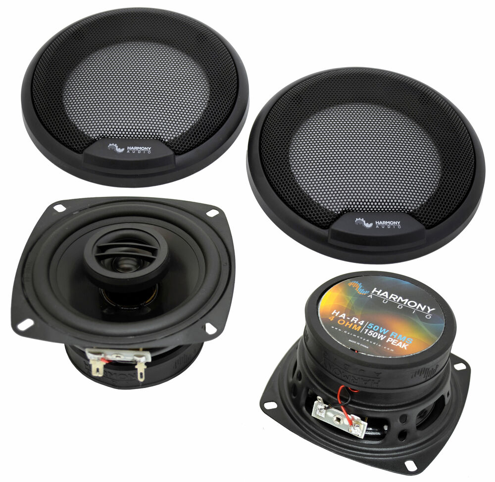 hight resolution of details about fits hummer h2 2008 2009 rear pillar replacement speaker harmony ha r4 speakers