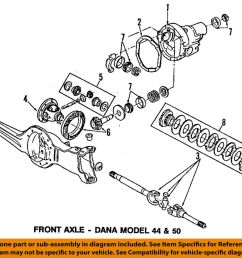 details about ford oem 84 97 f 350 front differential pinion bearing 8a4628 [ 1000 x 918 Pixel ]