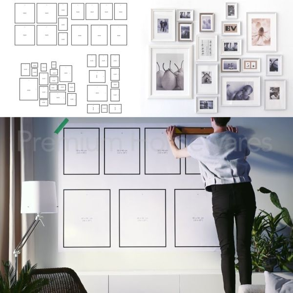 Frame Wall Gallery Templates