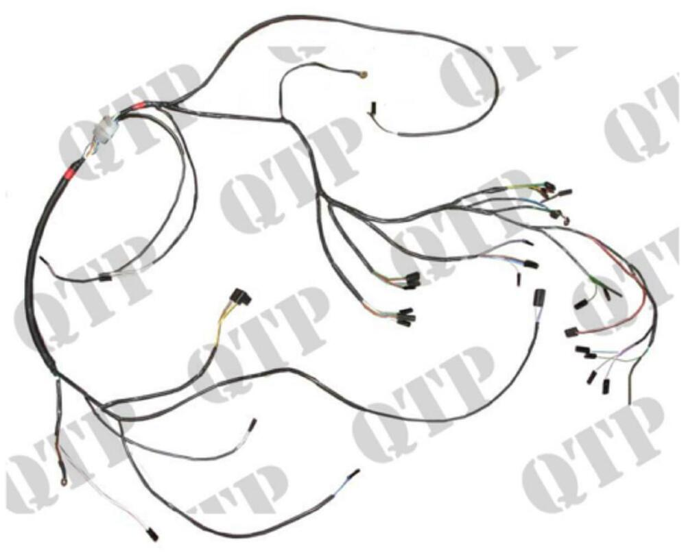 David Brown 990 Selectamatic 900 Series Wiring Harness