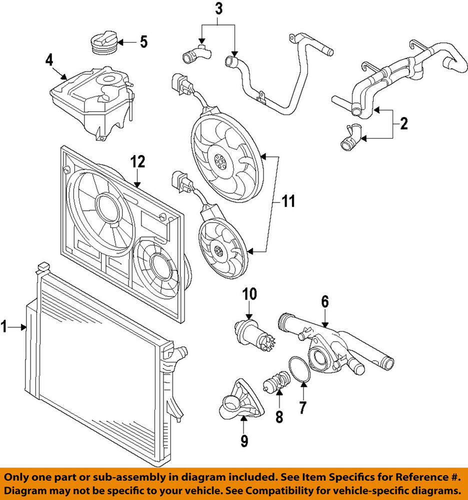 medium resolution of details about vw volkswagen oem 07 11 touareg engine coolant thermostat housing 03h 121 117 a