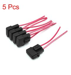 details about 5pcs universal plastic red black wiring fuse holder box block for motorcycle car [ 1000 x 1000 Pixel ]
