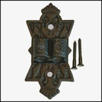 WALL PLATE HINGE for CAST IRON DOUBLE ARM WALL BRACKET OIL