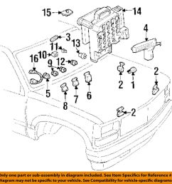 details about gm oem turn signal flasher 19209674 [ 975 x 1000 Pixel ]