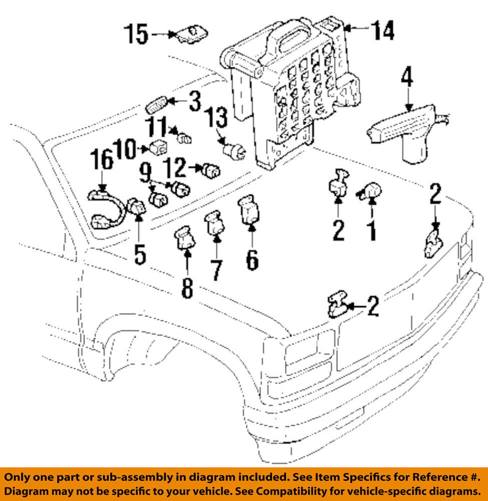 hight resolution of details about gm oem turn signal flasher 19209674