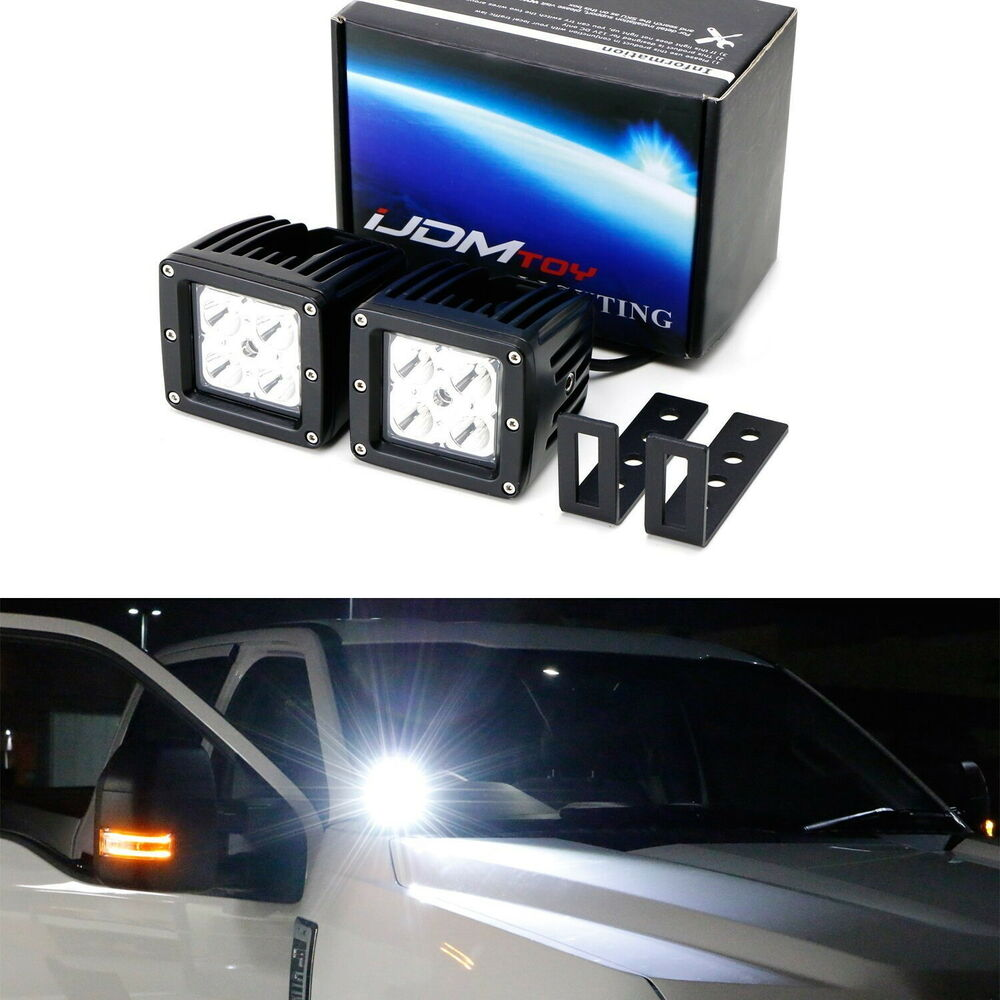 hight resolution of details about 40w cree led pods w a pillar bracket wiring for 07 14 chevy silverado gmc sierra