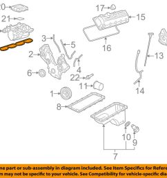 details about ford oem engine intake manifold gasket 4r3z9439aa [ 1000 x 798 Pixel ]