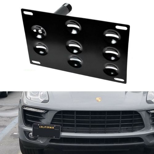 small resolution of bumper tow hook license plate bracket mount holder for porsche macan audi q5 trailer hitch besides 2011 audi q5 wiring harness connector l4