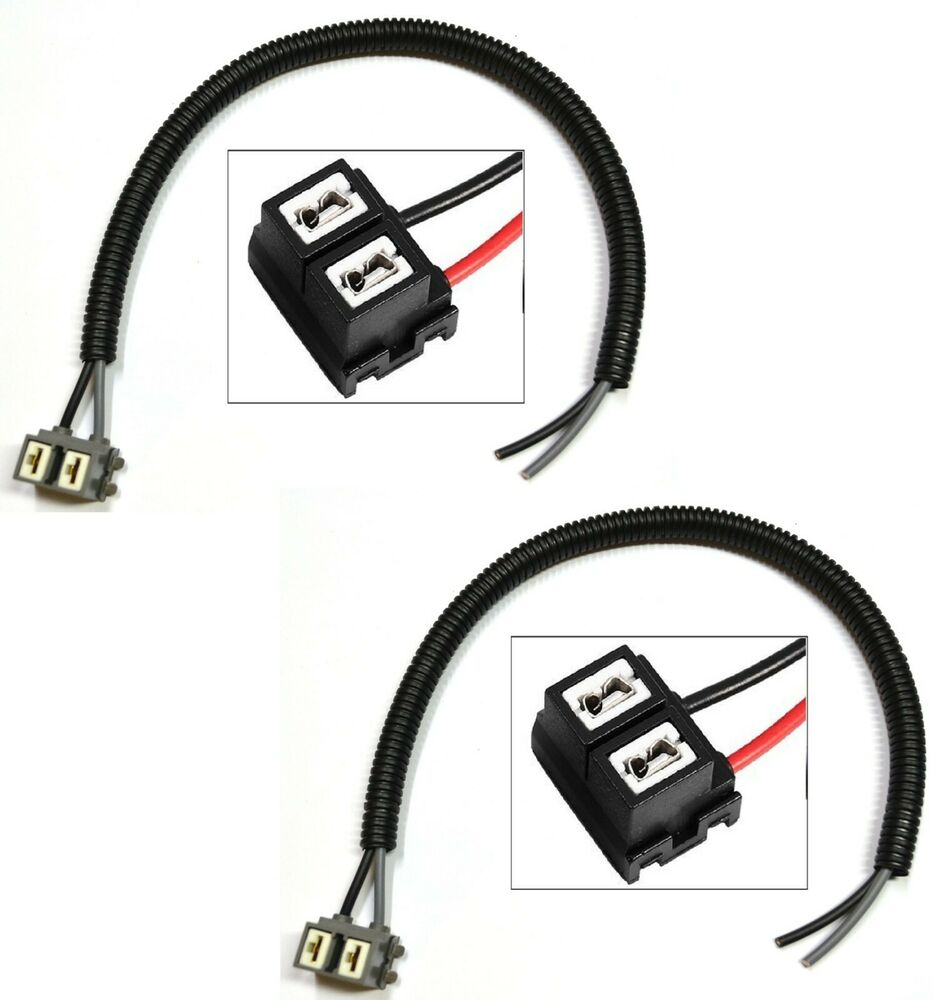 Extension Wire Pigtail Female H7 Two Harness Head Light