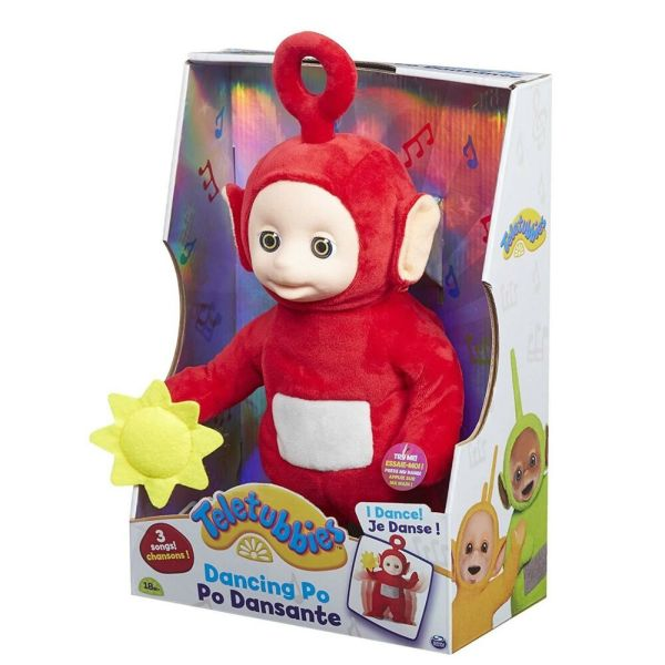 Dancing Po Teletubbies Toy Singing & Figure
