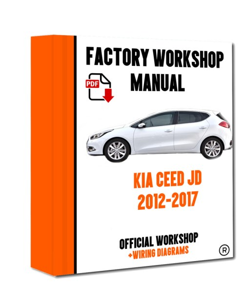 small resolution of official workshop manual service repair kia ceed jd 2012 2017 7625694504523 ebay
