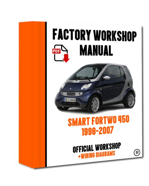 small resolution of smart car 450 wiring diagram wiring libraryofficial workshop manual service repair smart fortwo 450 451 1998