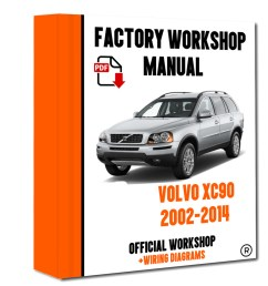 details about official workshop manual service repair volvo xc90 2002 2014 wiring diagram [ 800 x 1000 Pixel ]