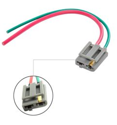 best dual pigtail wire harness connector gm hei coil in cap pigtail wiring harness 2 h4 9003 headlight  [ 1000 x 1000 Pixel ]