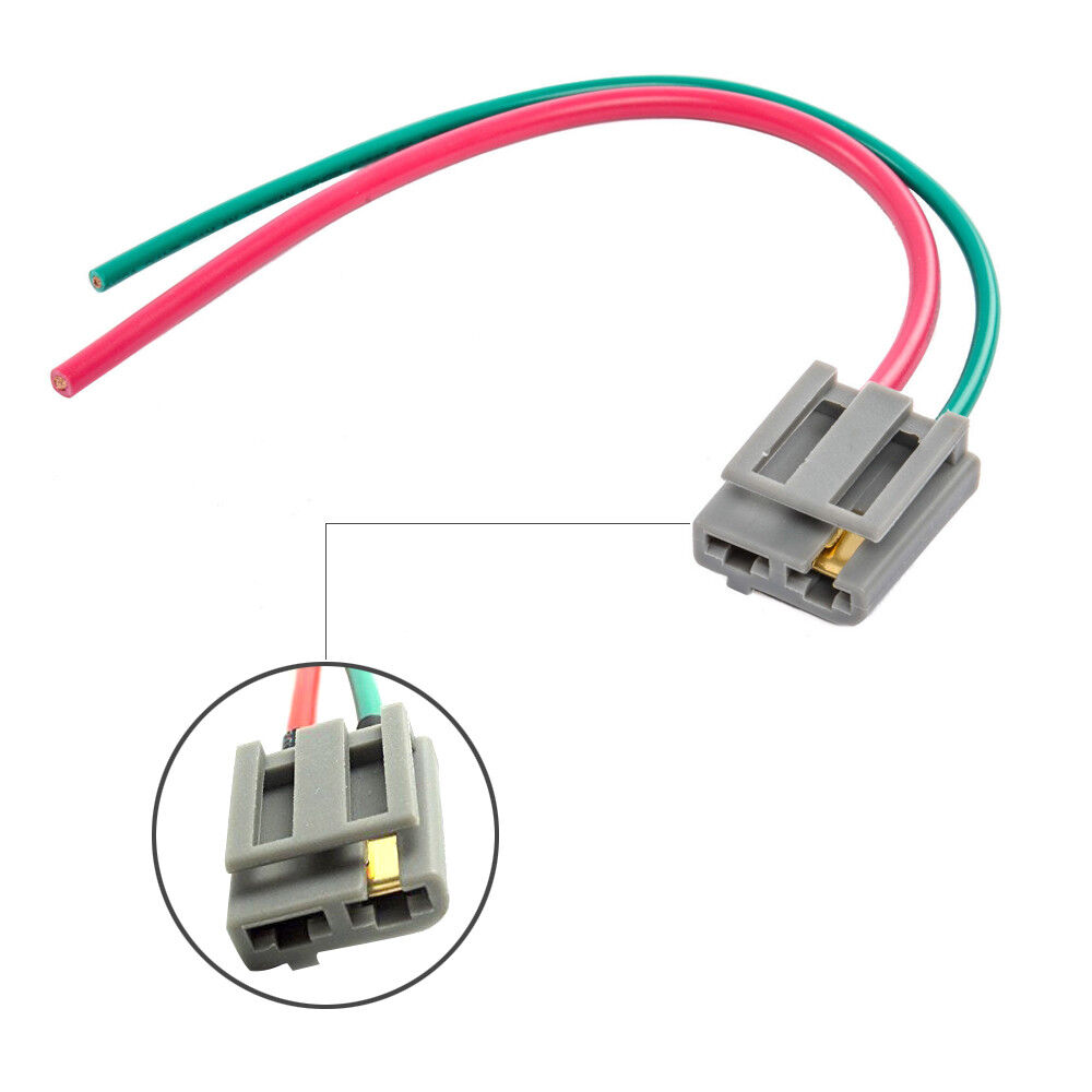 hight resolution of best dual pigtail wire harness connector gm hei coil in cap gm wire harness connectors details