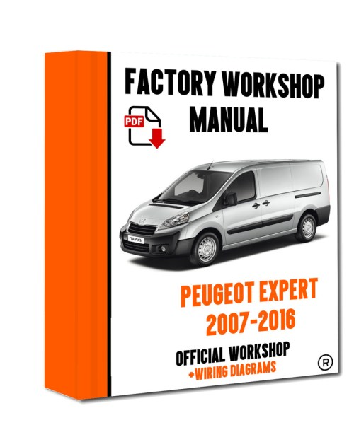 small resolution of official workshop manual service repair peugeot expert 2007 2016 7625694741256 ebay