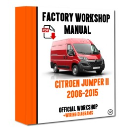 official workshop manual service repair citroen jumper ii 2006 2015 7625694595873 ebay [ 800 x 1000 Pixel ]