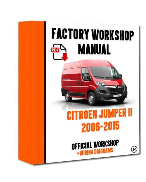 small resolution of official workshop manual service repair citroen jumper ii 2006 2015 7625694595873 ebay