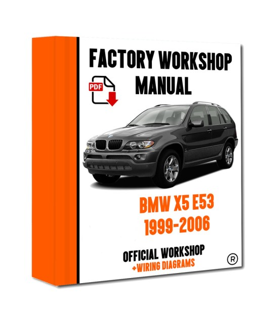 small resolution of  official workshop manual service repair bmw series x5 e53 1999 2006 7625694270435 ebay