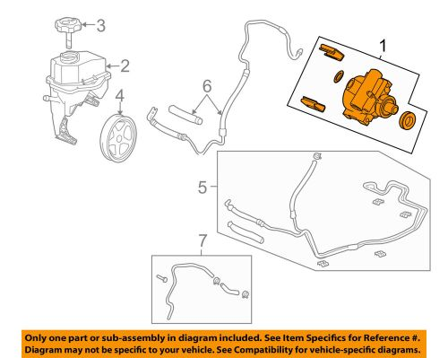 small resolution of details about gm oem power steering pump 15267584