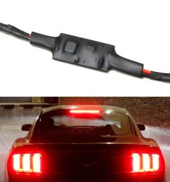 details about plug n play strobe flash module for 2015 up ford mustang led third brake light [ 1000 x 1000 Pixel ]
