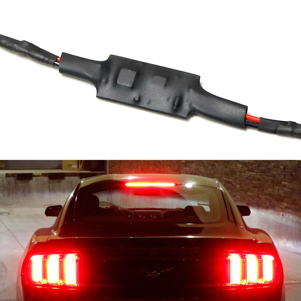 hight resolution of details about plug n play strobe flash module for 2015 up ford mustang led third brake light