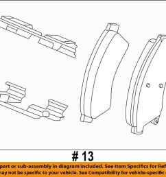 details about chevrolet gm oem 12 17 sonic brake front pads 42570931 [ 1000 x 789 Pixel ]